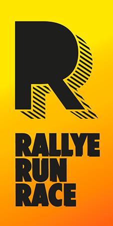 Rally Run Race Logo